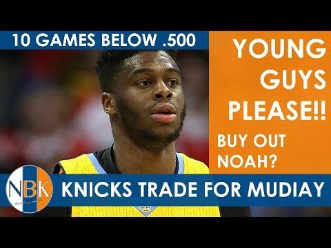 New York Knicks Trade for Emmanuel Mudiay