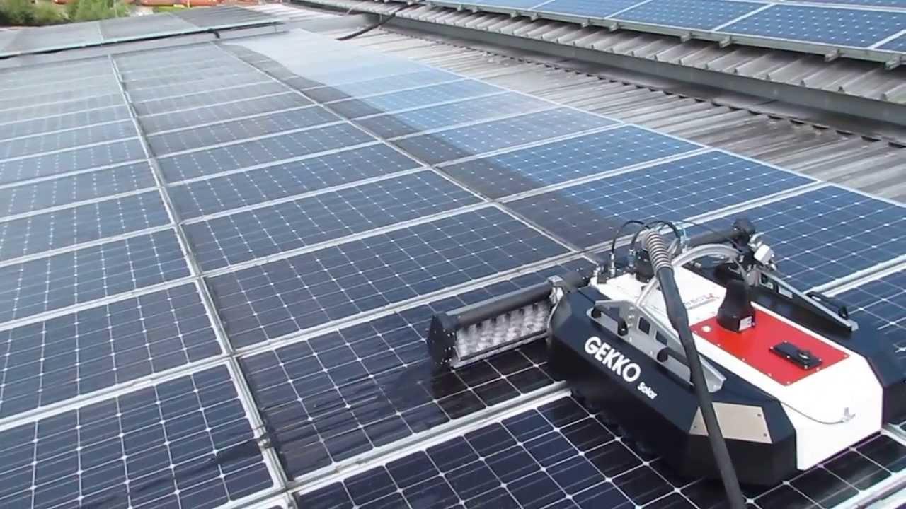 Photovoltaik Reinigungsroboter Www Beer Reinigungsservice