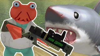 MEGALODON VS DR ZOIDFROG | The Amazing Frog Gameplay (HOW TO KILL MEGALODON)