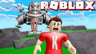 RUN FROM THE MONSTERS! | English Roblox: Build & Survive