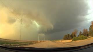 Garden City, Kansas Supercell and Tornado 11/16/15