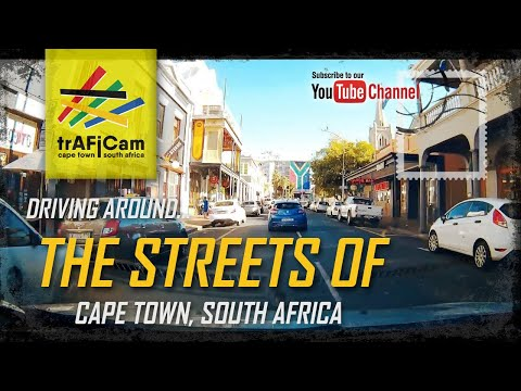 Driving around the streets of Cape Town, South Africa - 2018/04/29 13:32:03 - 076A