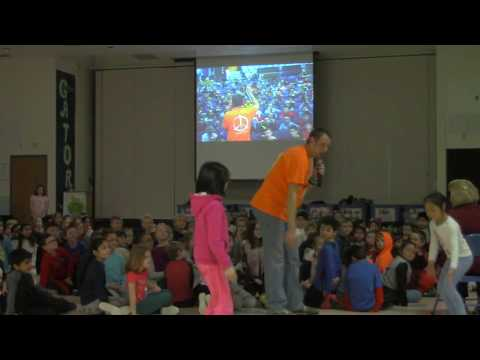 Youth Motivational Speaker 'Mr. Peace' School Assembly @ Thornton Creek Elementary (Grades K-2)