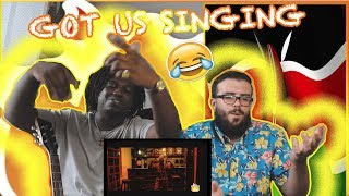 SAUTI SOL feat KALIGRAPH JONES - REWIND || Americans React To African Music