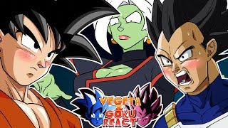 Vegeta And Goku React To ZAMASU'S DEATH NOTE