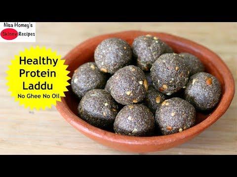 high-protein-laddu-recipe---no-oil/ghee/no-sugar--tasty-black-rice-laddoo- -skinny-recipes