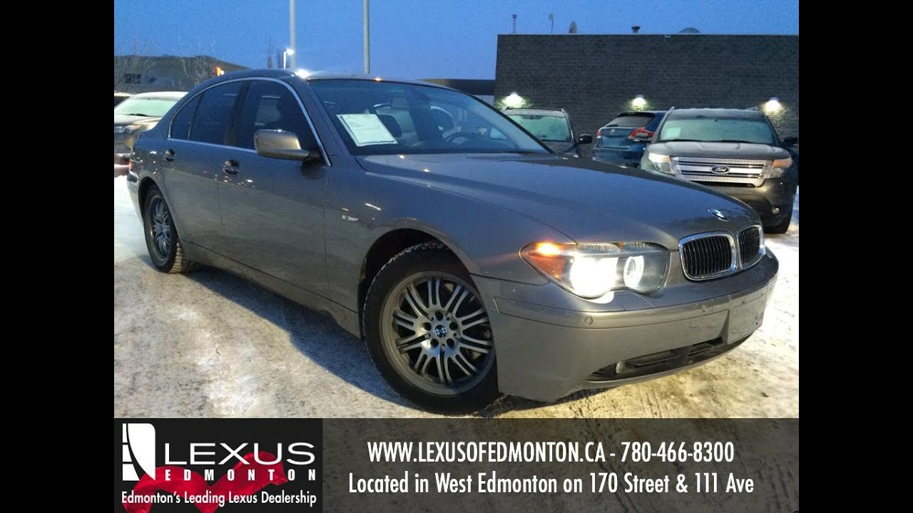 Used Grey 2004 Bmw 7 Series 745i Review Vegreville Alberta Youtube