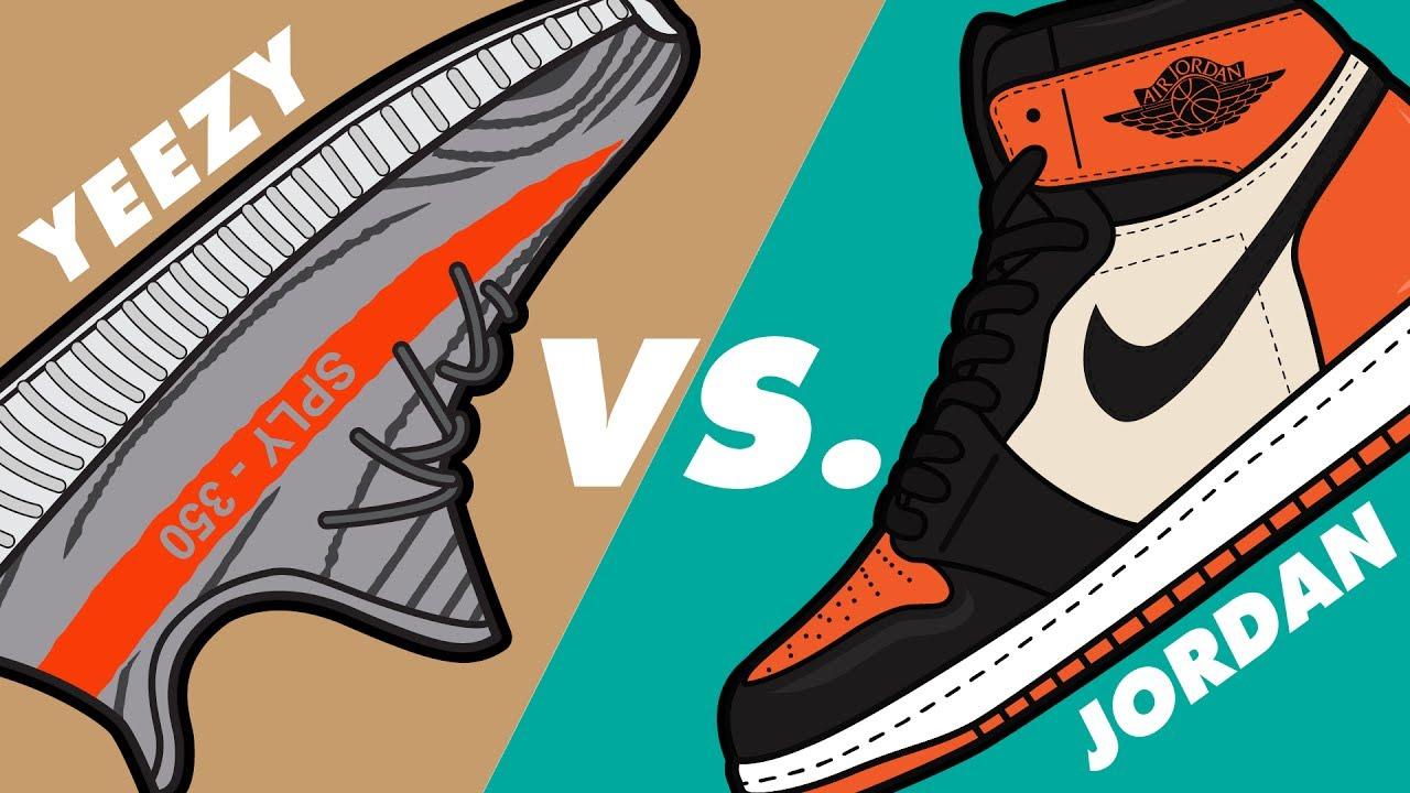 9d5ab443 Yeezy vs. Jordan at Calgary Sneaker Swap 3 - YouTube
