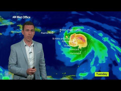 Hurricane Maria threatens the Caribbean