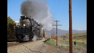 "[4K] Union Pacific ""Big Boy"" #4014 Leads The Spike150 Excursion! [May 2019]"