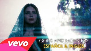 Gods and Monsters - Lana del Rey (Official Video) [Letra Español - English]