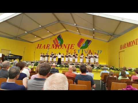 Bulgarien Sofia-Chor auf dem Harmonie Festival in Lindenholzhausen/D