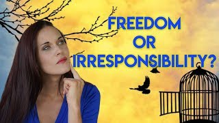 Is It Freedom or Is It Irresponsibility? (Commitment to Non Commitment) - Teal Swan -