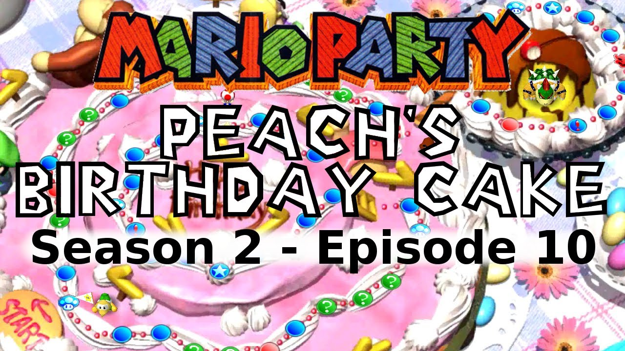 Mario Party Peach S Birthday Cake