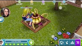 Sims Freeplay #003: Sims-Eating Plant!