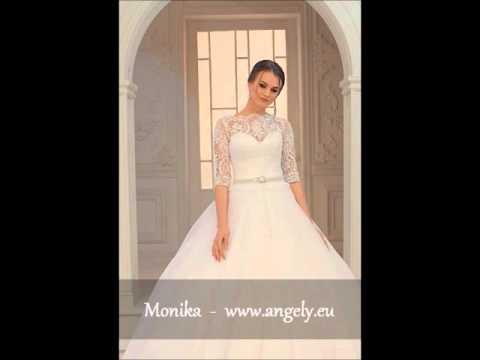 Monika Angely 2016 Brautmode Brautkleider Braut