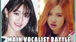 Video [VOCAL BATTLE] : Blackpink ROSE vs. Twice Jihyo download MP3, 3GP, MP4, WEBM, AVI, FLV Juni 2018