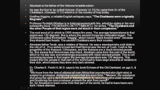 100% proof Ancient Hebrews and Jews were  Black people