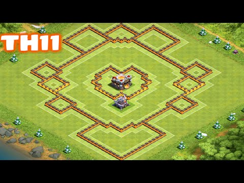 Clash of Clans - TownHall11 Trophy/War Base | Heart of a Champion