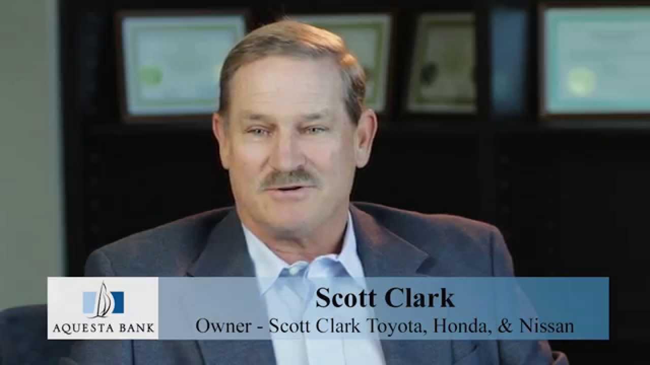 aquesta testimonial scott clark owner scott clark toyota honda nissan youtube. Black Bedroom Furniture Sets. Home Design Ideas