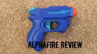 Nerf Super Soaker Alpha Fire Unboxing, Range Test & Firing Test