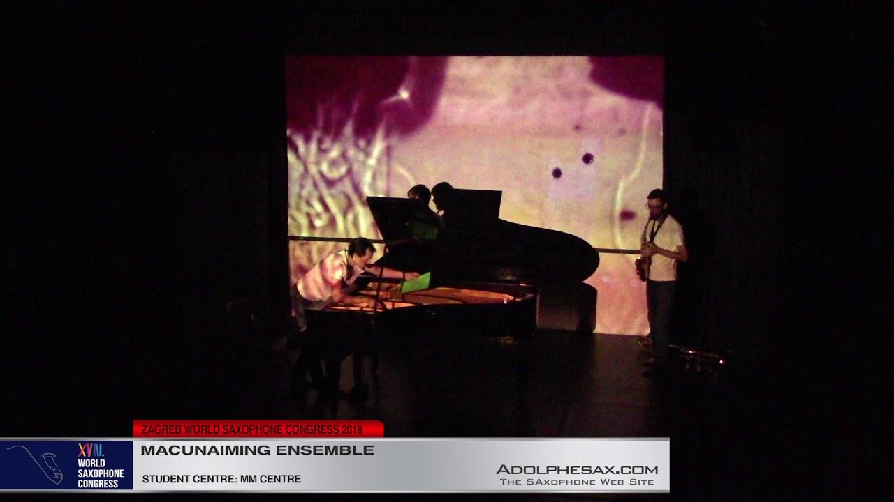 Metaforma by Macunaiming Ensemble    Macunaiming Ensemble   XVIII World Sax Congress 2018 #adolphesa