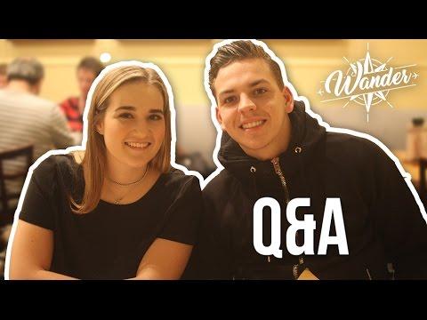 Dit wil je weten! | Q&A Melanie & Jasper | Wander