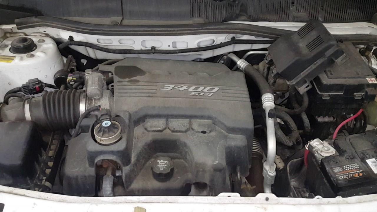 Dc0242 - 2008 Chevy Equinox Lt - 3 4l Engine