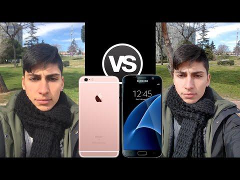 IPHONE 6S VS GALAXY S7 EDGE KAMERA
