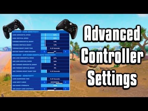 Advanced Controller Sensitivity & Aim Assist Guide! - Fortnite Battle Royale