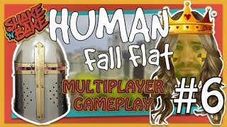Human Fall Flat (Xbox One) | Multiplayer Gameplay | Castles, Catapults and Quasimodo