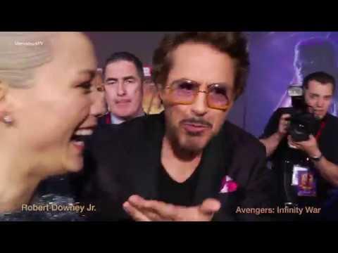 Robert Downey Jr.  at the Avengers: Infinity War  World  Premiere