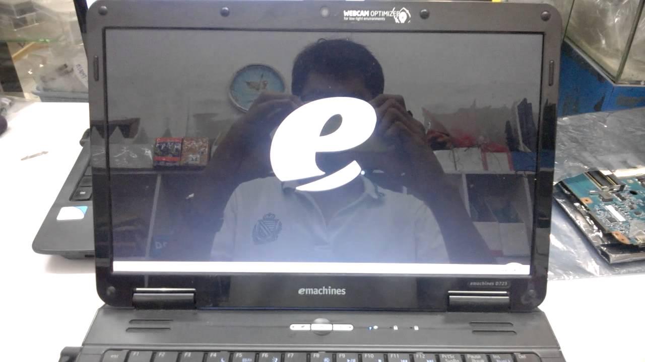 emachine d725 boot error