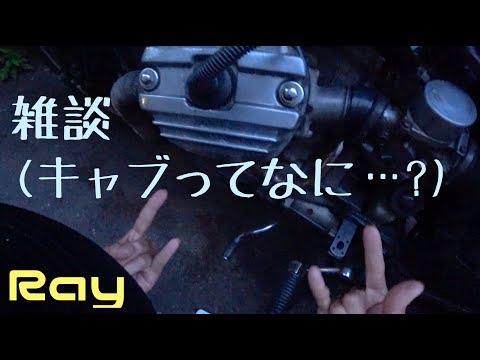 雑な談話(キャブってなに...?) Ray GL500 vlog