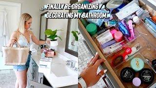re-decorating-organizing-my-bathroom