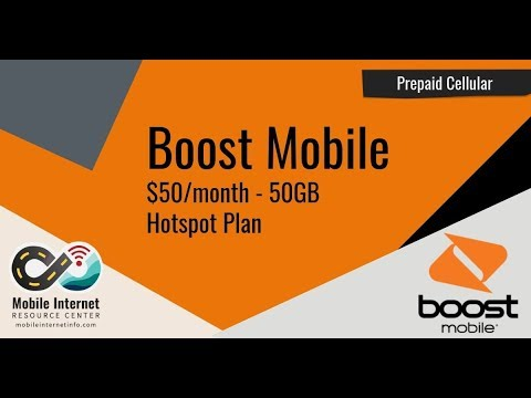 Boost Mobile Offers 50GB For $50/month Mobile Hotspot Plan On ZTE Warp
