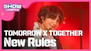 [Show Champion] 투모로우바이투게더 - New Rules (TOMORROW X TOGETHER  - New Rules) l EP.338