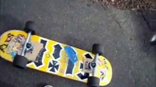 Chodeboard (skateboard With Longboard Truck/wheels)