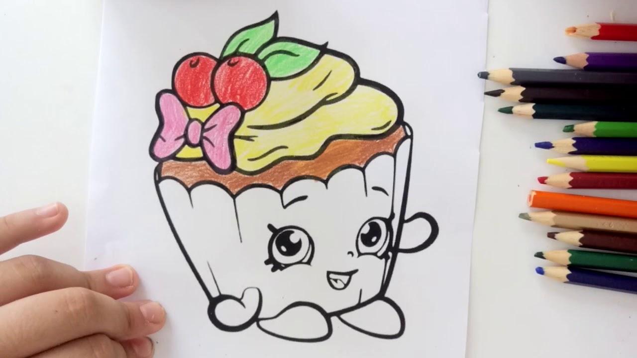 Cicibiciler Boyama Serisi Sevimli Kek Boyama Oyunu Youtube