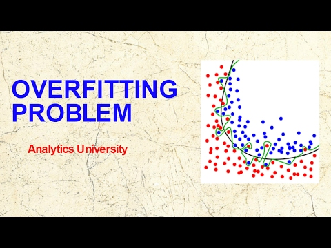 Over fitting Problems in Statistical Modelling | Cross Validation