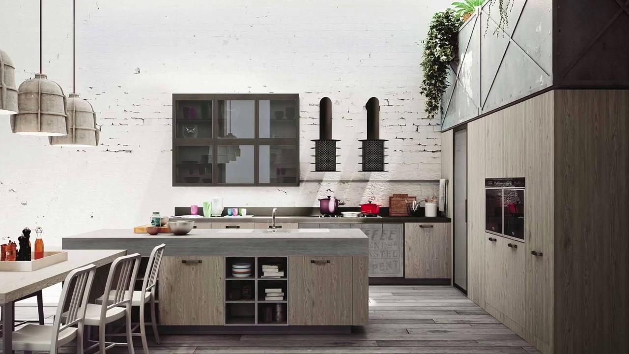 Snaidero 2017 3 cucina loft youtube - Cucine snaidero 2017 ...