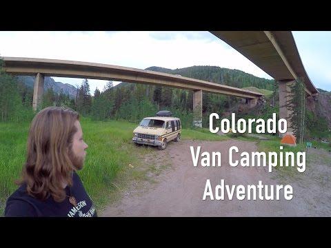 Vanlife - Colorado Van Camping Adventure