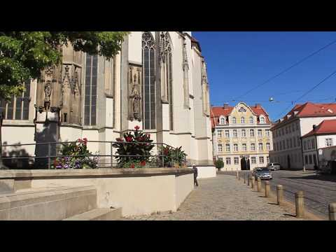 Living and working in Augsburg, Germany