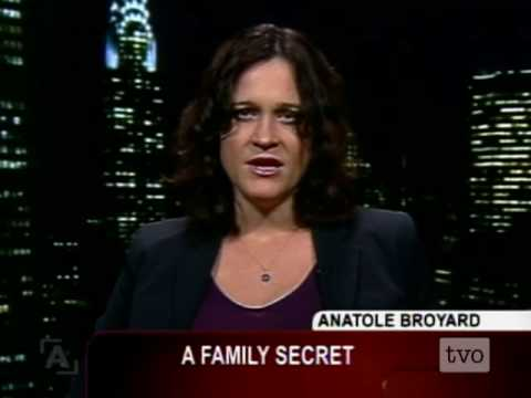"anatole broyard The daughter of the writer and new york times book critic anatole broyard, she  had grown up with a feeling ""that there was something about."