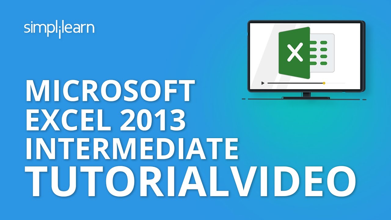 Microsoft excel 2013 intermediate tutorial video mos microsoft excel 2013 intermediate tutorial video mos certification training xflitez Image collections