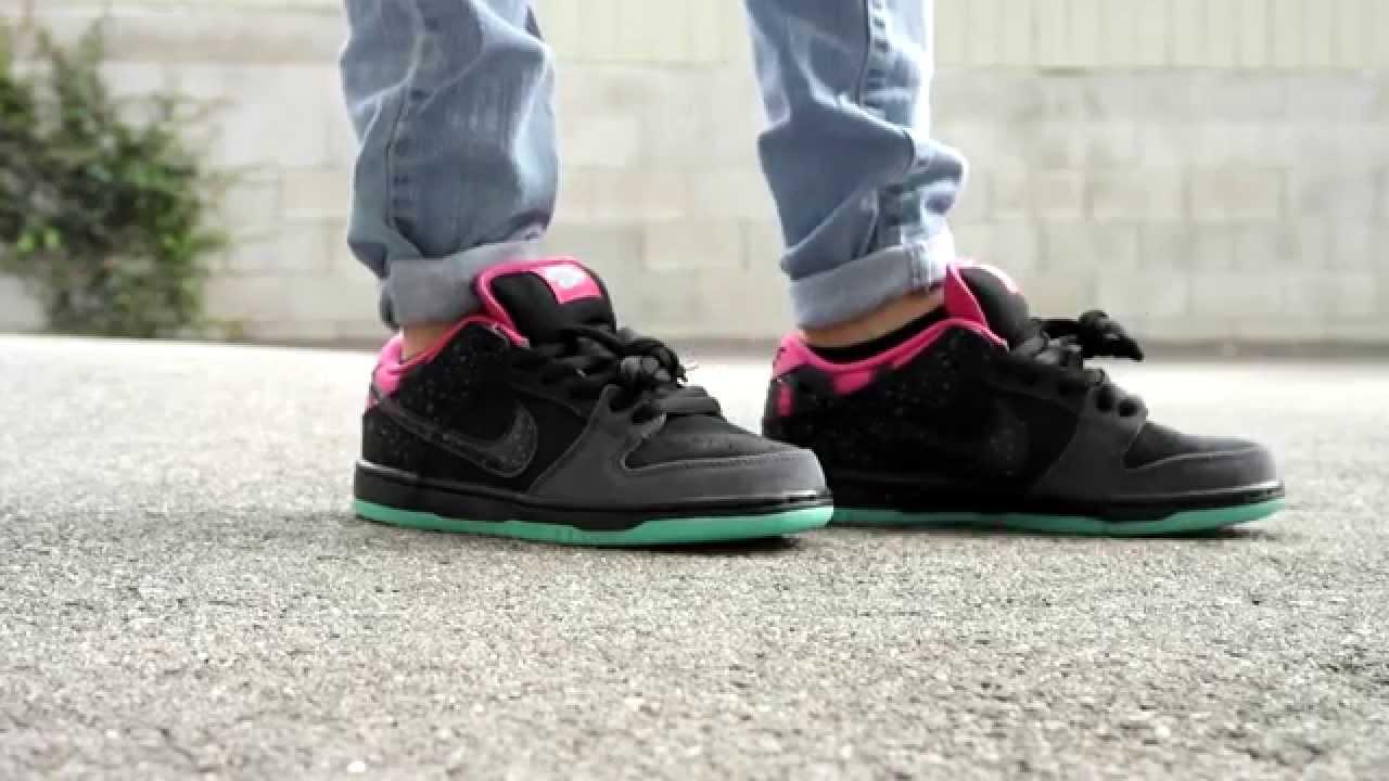 promo code 981b0 713fc Nike SB x Premier 'Northern Lights' Low On Feet - YouTube