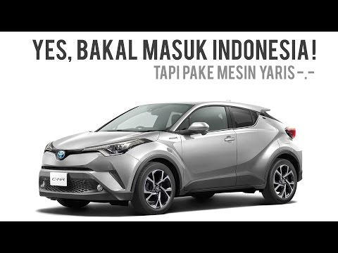Toyota CHR Indonesia + Giveaway Diecast
