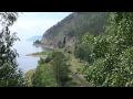 Байкальская сказка. Часть-5. Участок старинной железной дороги на берегу Байкала. КБЖД.