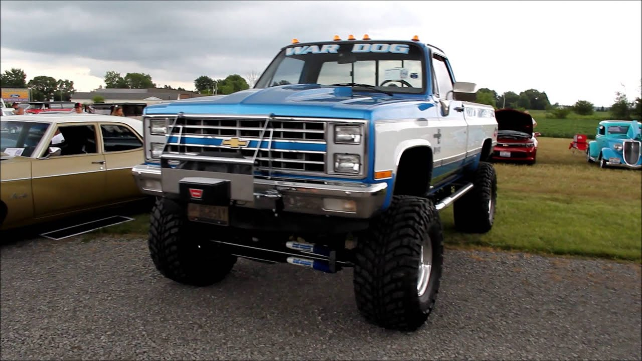 1981 chevy pickup truck [ 1280 x 720 Pixel ]
