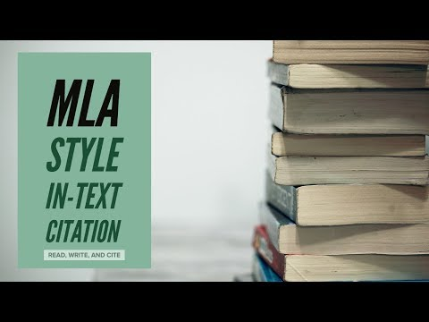 MLA Style In-Text Citation